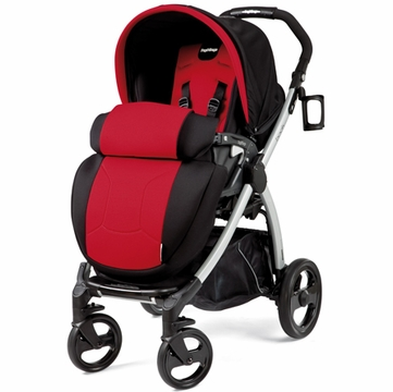 Peg Perego Book Plus Stroller in Flamenco (Red)
