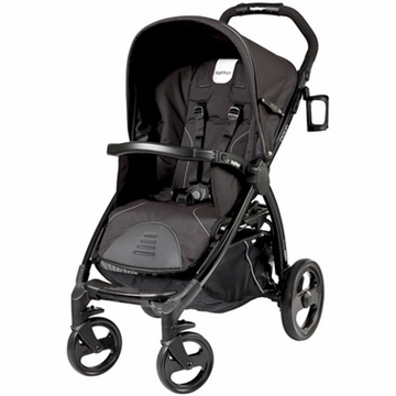 Peg Perego Book Stroller in Nero Reflect