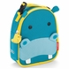 Skip Hop Zoo Lunchies Insulated Lunch Bag - Hippo
