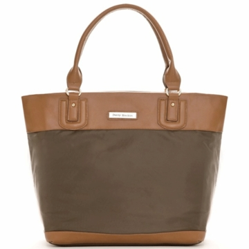 Perry Mackin Alexis Diaper Bag in Brown