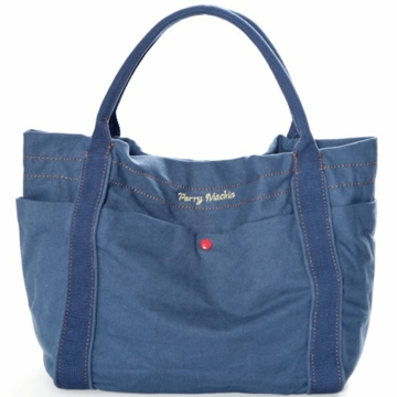 Perry Mackin Amy Diaper Bag in Navy