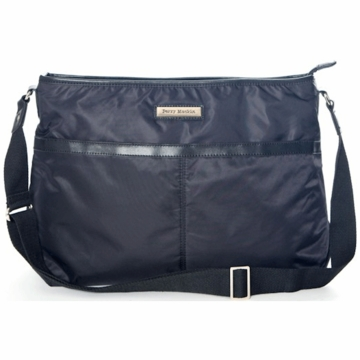 Perry Mackin Billy Diaper Bag in Black