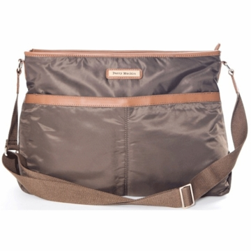 Perry Mackin Billy Diaper Bag in Brown
