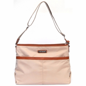 Perry Mackin Billy Diaper Bag in Cream