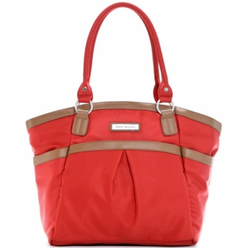 Perry Mackin Harper Diaper Bag in Red