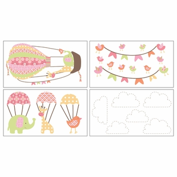 CoCaLo Up & Away Removable Wall Decals
