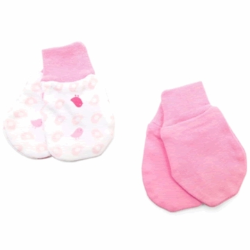 Petit Lem Dual Pack Knit Mitt - Small Birds