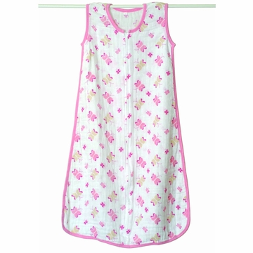 Aden + Anais Muslin Classic Sleeping Bag - Princess Posie - Medium