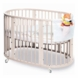 Stokke Sleepi Crib in White with FREE Colgate Foam Mattress