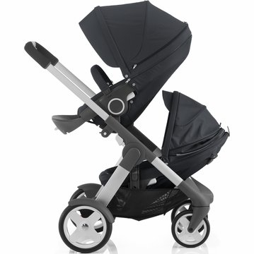Stokke Crusi Double Stroller - Dark Navy