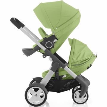Stokke Crusi Double Stroller - Light Green
