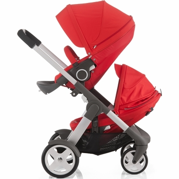 Stokke Crusi Double Stroller - Red