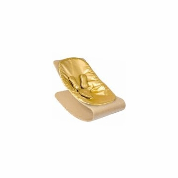Bloom Coco Style Wood Natural Baby Lounger in Solar Gold