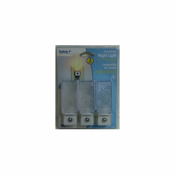 Safety 1st Auto Sensor Night Light - 3 Pack