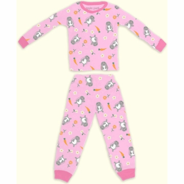 Apple Park Bunny Pajama - 6 to 12 Months