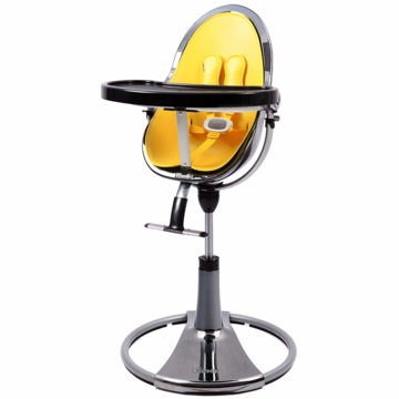 Bloom Fresco Highchair with Mercury Frame in Canary Yellow