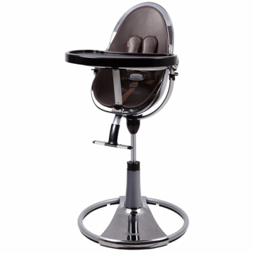 Bloom Fresco Highchair with Mercury Frame in Henna Brown (Leatherette)