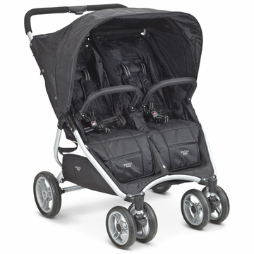 Valco Snap Twin Double Stroller - Black Iris