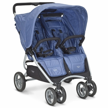 Valco Snap Twin Double Stroller - Cornflower