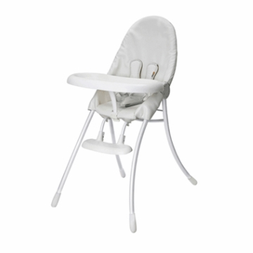 Bloom Nano Highchair with White Frame in White