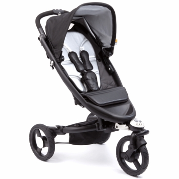 Bloom Zen Stroller in Monochrome with FREE Rain Shield