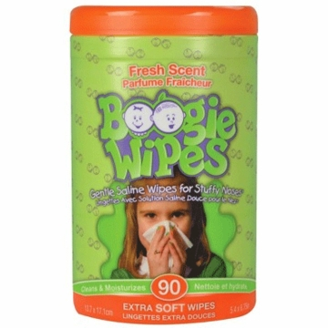 Boogie Wipes Canister - Fresh Scent - 90 Count