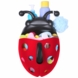 Boon BUG POD Bath Toy Scoop, Drain, & Storage - Red & Black