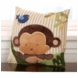 KidsLine Jungle 123 Throw Pillow