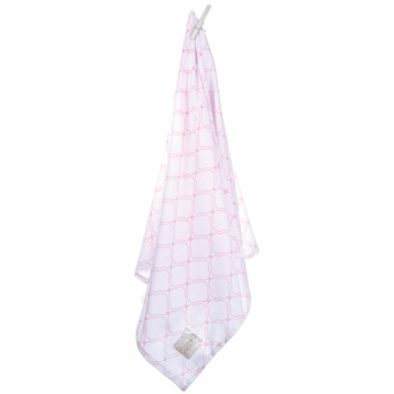 Little Giraffe Swaddle & Shelter Muslin Link Blanket 2 Pack - Pink