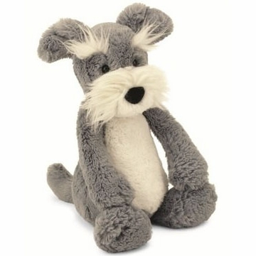 Jellycat Bashful Schnauzer, Medium