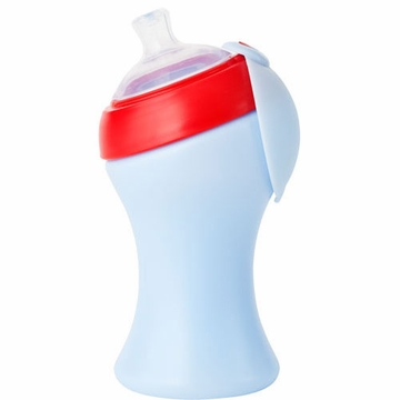Boon SWIG Tall Top Sippy Cup - Light Purple & Red