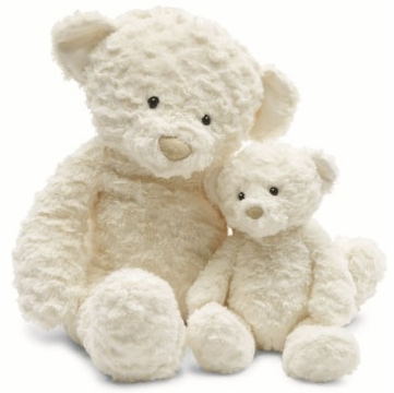 Jellycat Meringue Bear in Cream, Small