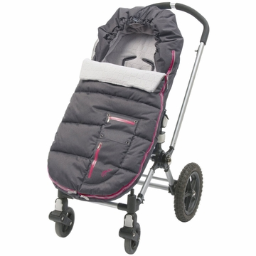 JJ Cole Bundleme Arctic Toddler - Charcoal Sassy