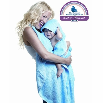 Simply Good Hands Free Hooded Baby Towel - Blue