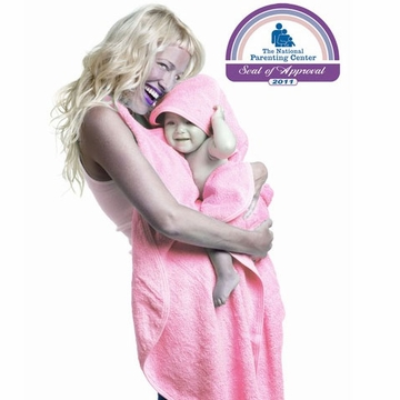 Simply Good Hands Free Hooded Baby Towel - Pink