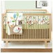 Skip Hop Treetop Friends 4pc Crib Bedding