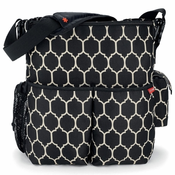Skip Hop Duo Diaper Bag - Onyx Tile
