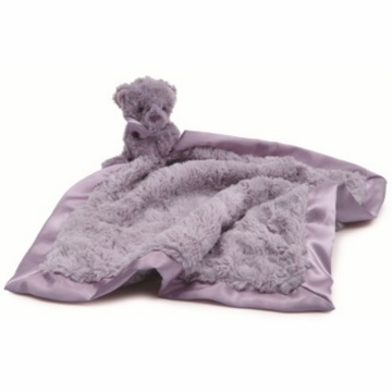 Jellycat Souffle Bear Soother in Lavender