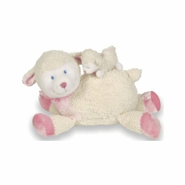 "Kids Preferred 10"" Mama-Baby Lamb Action Musical"