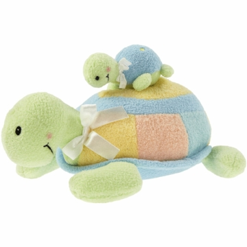 "Kids Preferred 10"" Mama-Baby Turtle Action Musical"