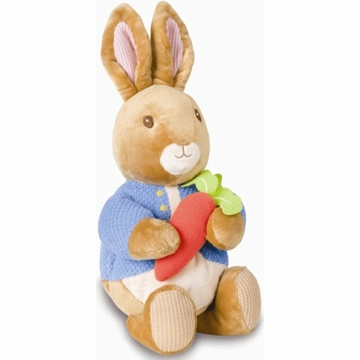 "Kids Preferred 10"" Waggie Musical Peter Rabbit"