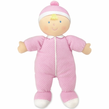 "Kids Preferred 12"" Baby Girl Doll Pink"