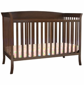 DaVinci Tyler Crib 5-Piece Nursery Set in Espresso