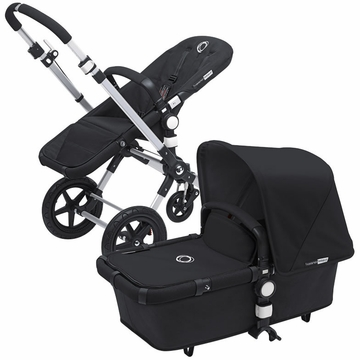 Bugaboo Cameleon 3 Bundle - Black Base / Black Fabric Set