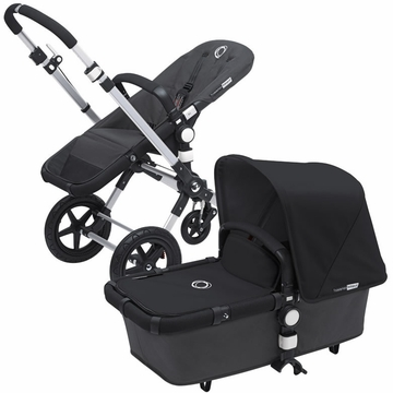 Bugaboo Cameleon 3 Bundle - Dark Grey Base / Black Fabric Set