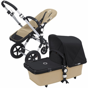 Bugaboo Cameleon 3 Bundle - Sand Base / Black Fabric Set