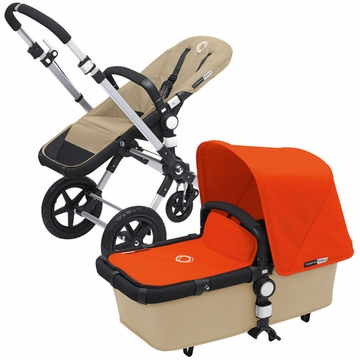 Bugaboo Cameleon 3 Bundle - Sand Base / Orange Fabric Set