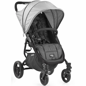 Valco Snap 4 Stroller and Hood - Black/Silver