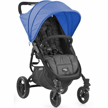 Valco Snap 4 Stroller and Hood - Black/Blueberry