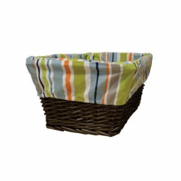 Lambs & Ivy Little Traveler Basket with Liner